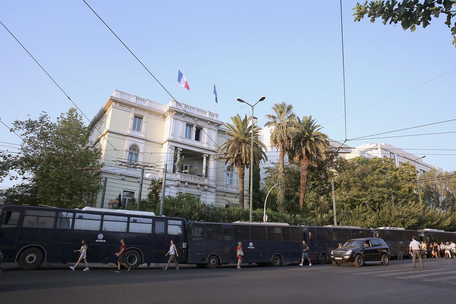 Απαγόρευση διαδηλώσεων στην Αθήνα λόγω Ομπάμα