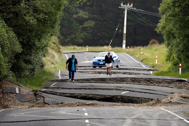 Βιβλική καταστροφή από τον σεισμό 7,8 ρίχτερ στη Νέα Ζηλανδία (εικόνες & βίντεο)
