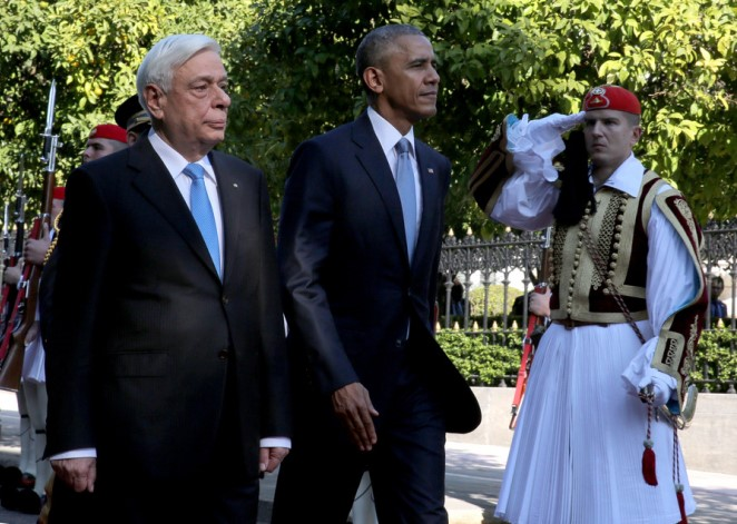 Τα συγχαρητήρια Ομπάμα σε Παυλόπουλο για το προσφυγικό