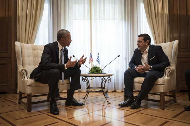 Βloomberg: Ο Ομπάμα διατηρεί ζωντανή την ελπίδα για την Ελλάδα