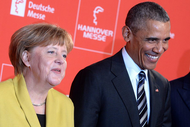 Κοινό άρθρο Ομπάμα-Μέρκελ υπέρ της εμπορικής συμφωνίας ΕΕ-ΗΠΑ