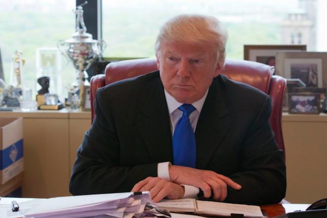 Μέσα στο γραφείο του Ντόναλντ Τραμπ στο Μανχάταν (εικόνες)