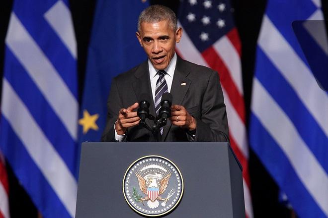 H ομιλία του Μπαράκ Ομπάμα στο Σταύρος Νιάρχος