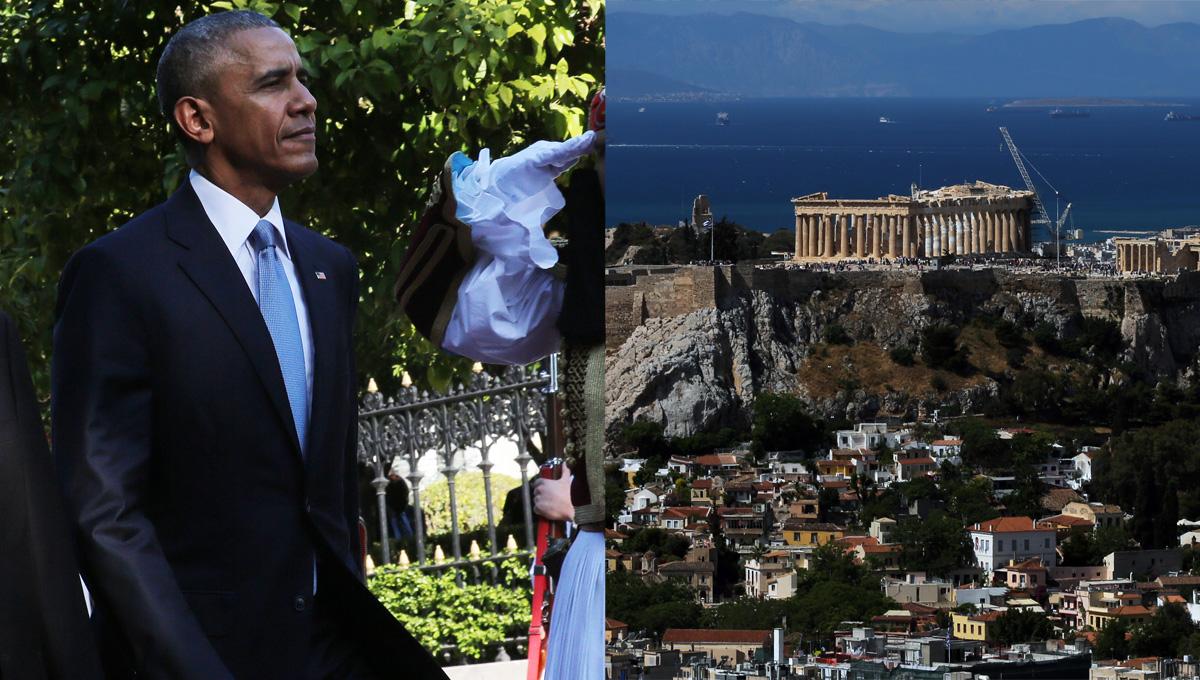 Στην Ακρόπολη σήμερα ο Ομπάμα – Σοβαρά μέτρα ασφαλείας