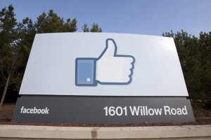 epa05614709 (FILE) A file picture dated 31 January 2012, shows a view of Facebook's corporate headquarters in Menlo Park, California, USA. Social media giant Facebook on 02 November 2016 posted for its Q3 of 2016's adjusted earnings of 1.09 US dollars per share on revenue of some seven billion US dollars and an advertising revenue of 6.82 billionUS dollars, outperfoming analysts' expectations.  EPA/PETER DASILVA