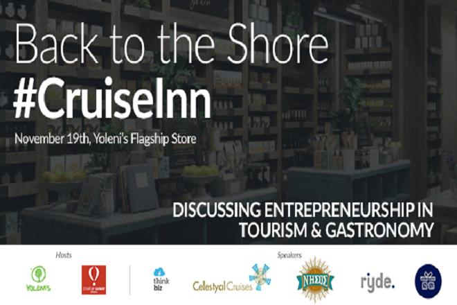 CruiseInn: Συζήτηση για το πώς η τεχνολογία αλλάζει τουρισμό και γαστρονομία με τη Yoleni's