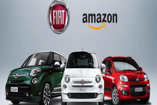 Συνεργασία Fiat και Amazon για τη πώληση αυτοκινήτων μέσω internet