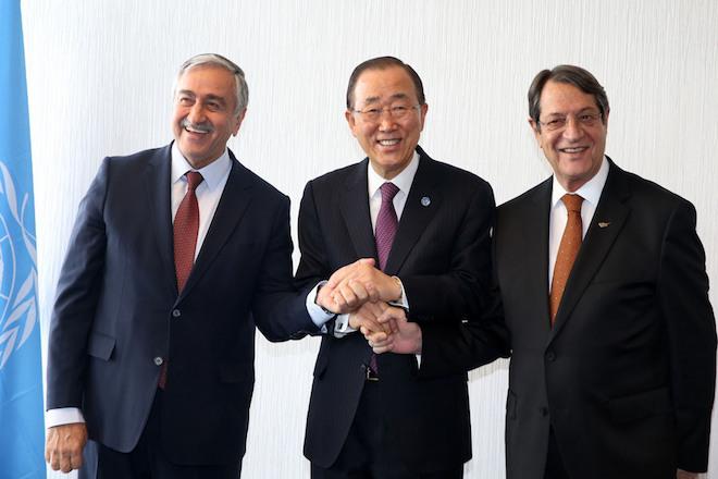 Συνεχίζονται σήμερα στην Ελβετία οι κρίσιμες διαπραγματεύσεις για το Κυπριακό