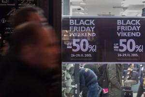 Black Friday shopping in Prague