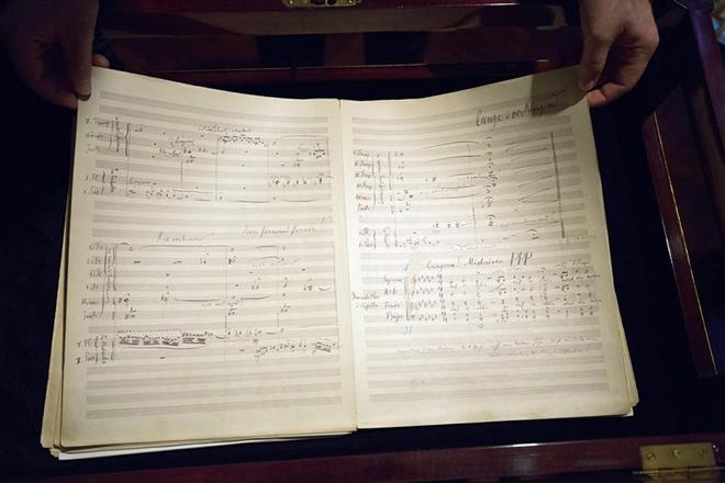 Η τιμή-ρεκόρ μιας μουσικής παρτιτούρας του Γκούσταβ Μάλερ