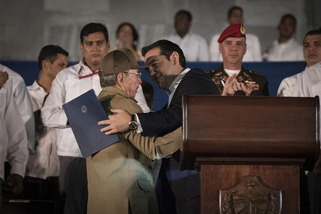 Τι συζήτησαν ο Τσίπρας με τον Ραούλ Κάστρο