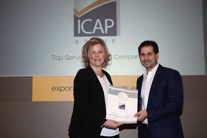Ξεχώρισε η ICAP Group στα φετινά Greek Exports Awards 2016
