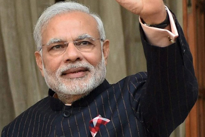 Ο πρωθυπουργός της Ινδίας ψηφίστηκε ως το Πρόσωπο της Χρονιάς 2016