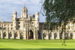 A view of St Johns College in Cambridge. (Photo by: Loop Images/UIG via Getty Images)