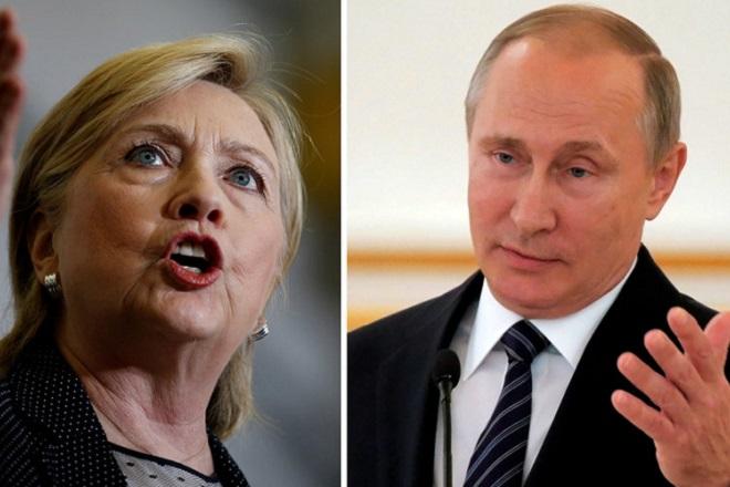Τον Πούτιν δείχνει ως υπαίτιο για την ήττα της η Κλίντον