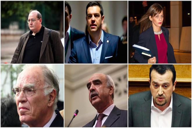 Τα πολιτικά πρόσωπα που πρωταγωνίστησαν το 2016