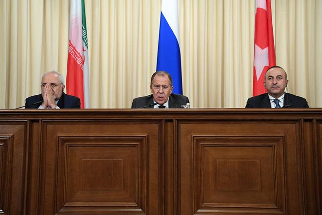 Ρωσία, Ιράν και Τουρκία έθεσαν κοινούς στόχους για την επόμενη μέρα της Συρίας