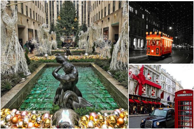 Εικόνες από Χριστούγεννα ανά τον κόσμο