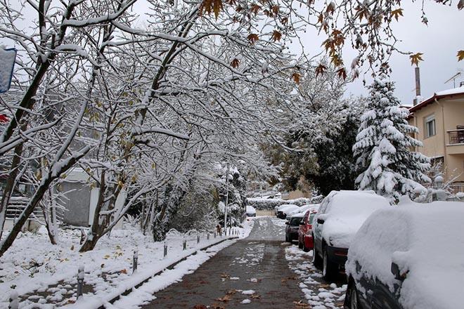 Έρχεται ο «Τηλέμαχος» με χιόνια, κρύο και ολικό παγετό