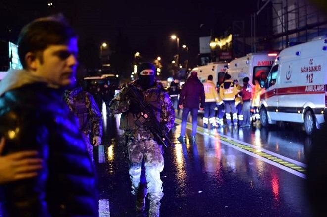 Το Ισλαμικό Κράτος πίσω από την πρωτοχρονιάτικη επίθεση στην Κωνσταντινούπολη