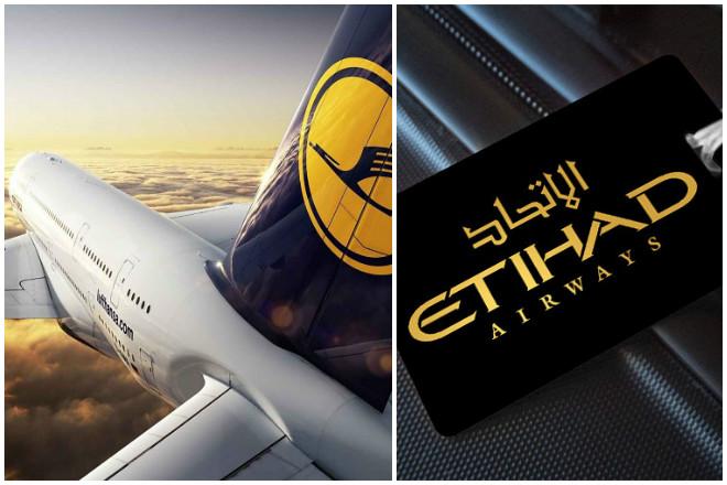 Εtihad και Lufthansa «έδωσαν τα χέρια» για πτήσεις κοινού κωδικού