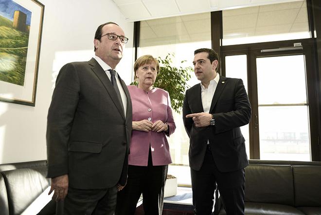 Τι είπε ο Αλέξης Τσίπρας σε Ολάντ και Μέρκελ για το Κυπριακό