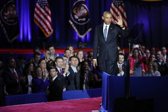Παρακαταθήκη για τη Δημοκρατία ο τελευταίος λόγος Ομπάμα