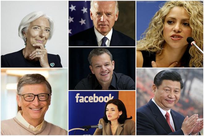 Η «αφρόκρεμα» των διασήμων που θα παρευρεθούν στο Παγκόσμιο Οικονομικό Φόρουμ