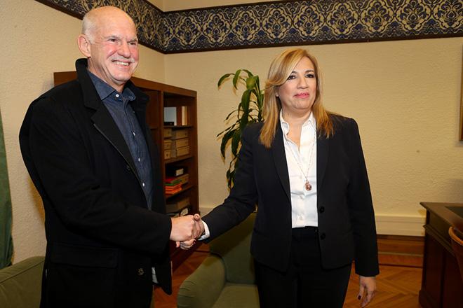 Ο Γιώργος Παπανδρέου ξανά μαζί με το ΠΑΣΟΚ