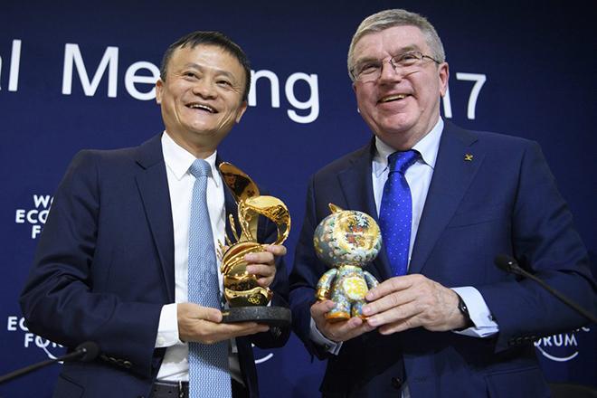 Οι Ολυμπιακοί Αγώνες υποδέχονται την Alibaba
