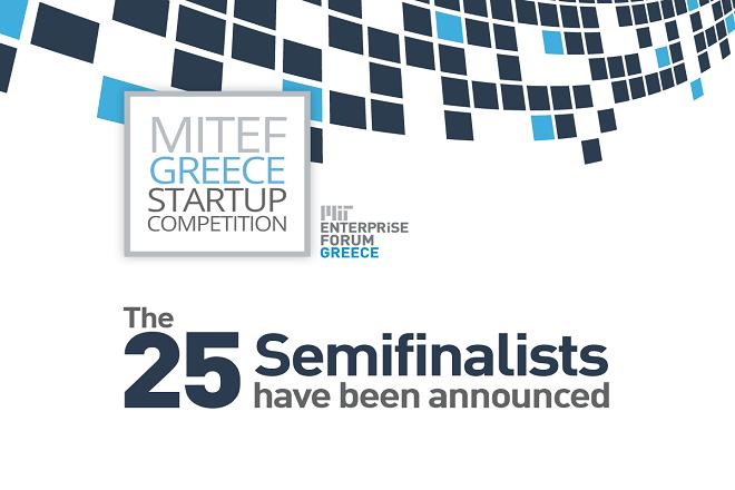 Οι 25 ομάδες που περνούν στoν ημιτελικό γύρο του MITEF Greece Startup Competition