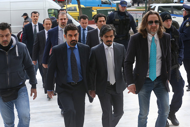 «Όχι» από το Συμβούλιο Εφετών για την έκδοση των Τούρκων αξιωματικών