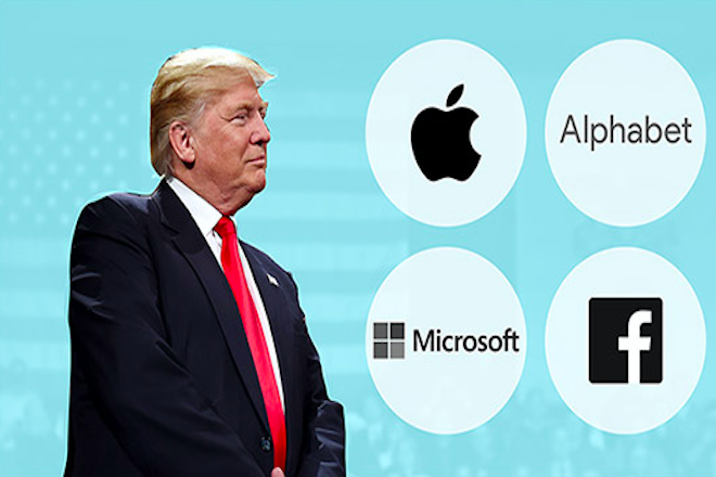 Σύσσωμη η Silicon Valley εναντίον του Τραμπ – Πώς αντιδρούν οι τεχνολογικοί κολοσσοί