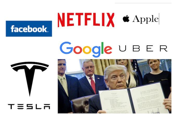 Apple, Facebook και 95 ακόμη εταιρείες πάνε τον Τραμπ στα δικαστήρια
