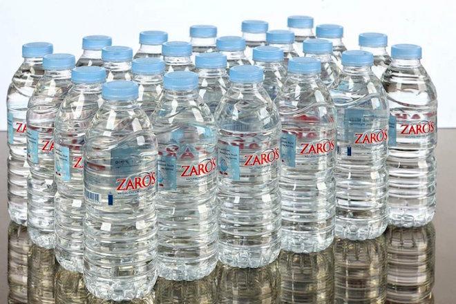 Αύξηση 128% σημείωσαν οι εξαγωγές για τα νερά ZARO'S