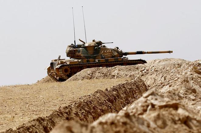 Ο στρατός της Τουρκίας αναπτύσσεται βαθύτερα στο βόρειο τμήμα της Συρίας