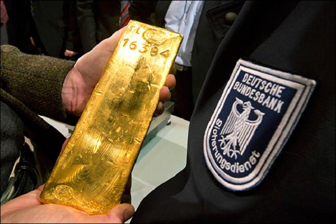 Η Γερμανία μαζεύει πίσω όλο της το χρυσό