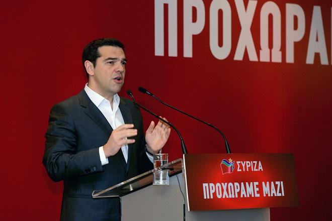 Ο πρωθυπουργός και πρόεδρος του ΣΥΡΙΖΑ Αλέξης Τσίπρας μιλά στην συνεδρίαση της Κεντρικής Επιτροπής του κόμματος του , Σάββατο 11 Φεβρουαρίου 2017 ,. Συνεδριάζει η Κεντρική Επιτροπή του ΣΥΡΙΖΑ σε κεντρικό ξενοδοχείο . ΑΠΕ-ΜΠΕ/ΑΠΕ-ΜΠΕ/Παντελής Σαίτας