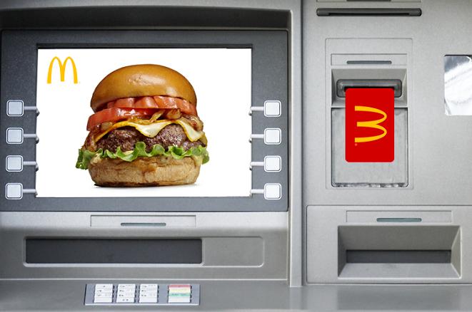 Τα McDonald's παρουσιάζουν το πρώτο τους… ATM!