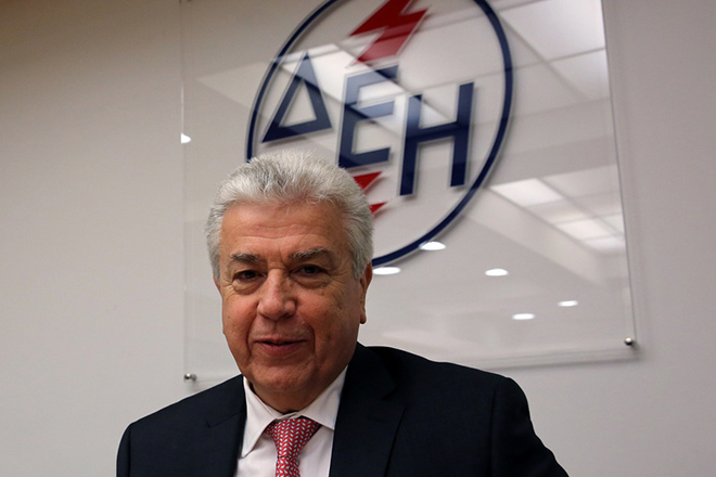 Ο πρόεδρος και διευθύνων σύμβουλος της ΔΕΗ Εμμανουήλ Παναγιωτάκης μιλάει στην έκτακτη γενική συνέλευση της εταιρείας στα κεντρικά γραφεία στην Αθήνα, Πέμπτη 12 Ιανουαρίου 2017. ΑΠΕ-ΜΠΕ/ΑΠΕ-ΜΠΕ/ΑΛΕΞΑΝΔΡΟΣ ΒΛΑΧΟΣ