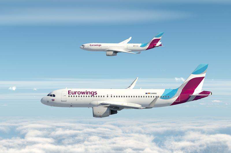 Eurowings: Νέα δρομολόγια προς Ελλάδα από τη θυγατρική της Lufthansa