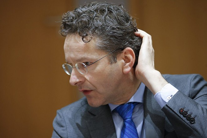 epa05752388 President of Eurogroup, Dutch Finance Minister Jeroen Dijsselbloem during the Eurogroup Finance Ministers meeting in Brussels, Belgium, 26 January 2017.  EPA/OLIVIER HOSLET