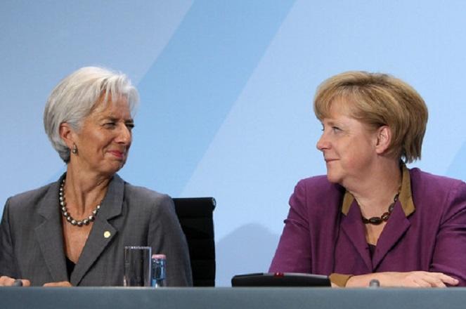 Τετ α τετ Μέρκελ – Λαγκάρντ στο Βερολίνο για το μέλλον του ΔΝΤ στο ελληνικό πρόγραμμα