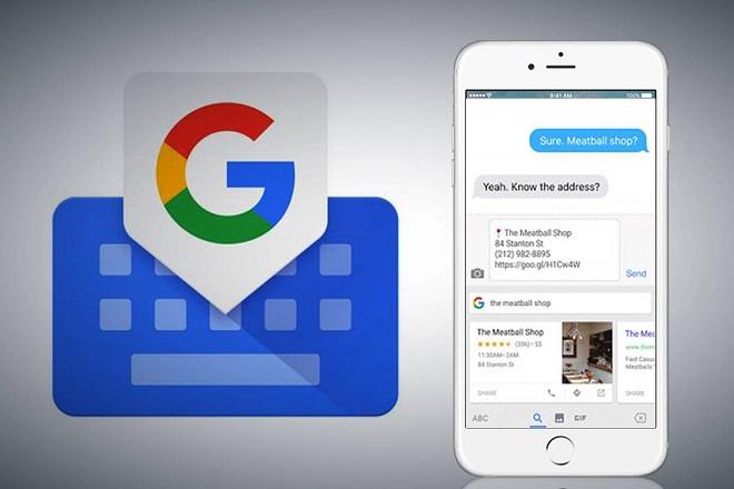 Η Google αναβαθμίζει το Gboard για συσκευές iPhone