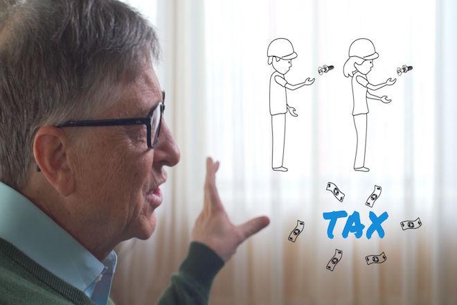 Γιατί ο Μπιλ Γκέιτς θέλει να φορολογηθούν τα ρομπότ;