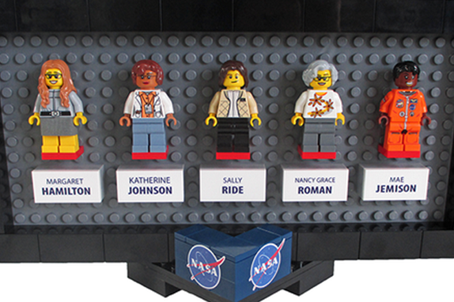 H Lego τιμά τις «άγνωστες» γυναίκες της NASA