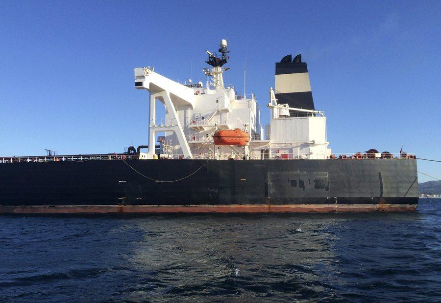 Δεξαμενόπλοιο που φέρεται να κατευθυνόταν στη Συρία κατασχέθηκε στα ανοιχτά του Γιβραλτάρ