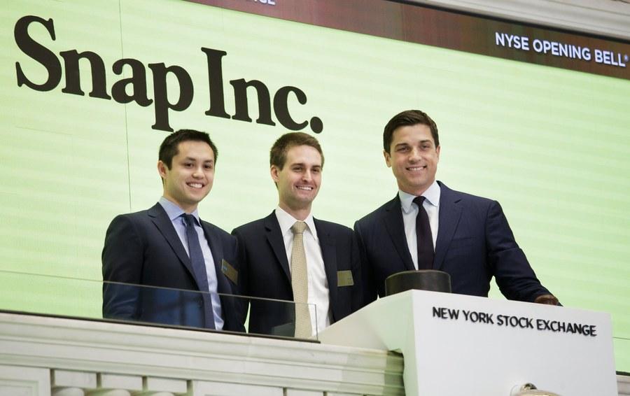 Οι δισεκατομμυριούχοι του Snapchat