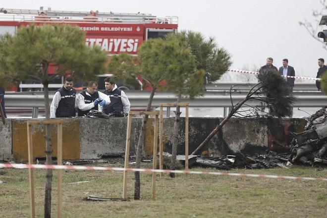 Πτώση ελικοπτέρου στην Κωνσταντινούπολη με πέντε νεκρούς