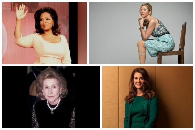Οι πλουσιότερες γυναίκες όλων των εποχών